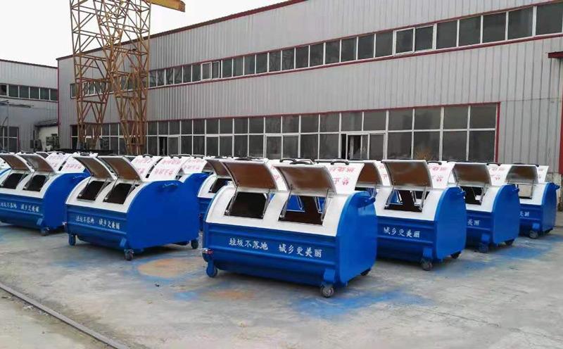车厢可卸式垃圾箱