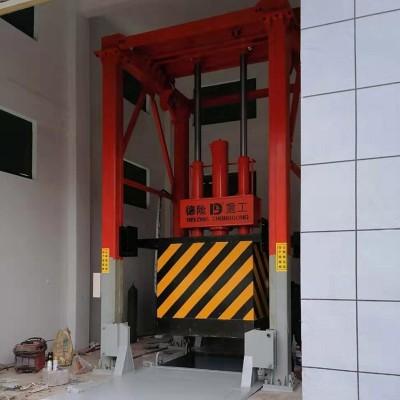 地埋式垂直压缩垃圾中转站设备