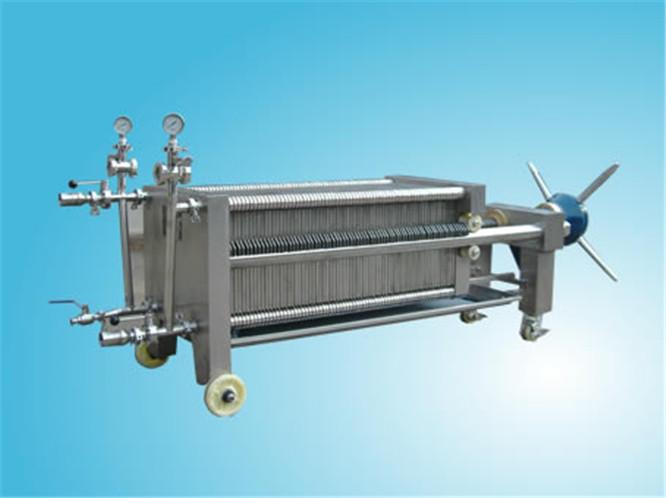 一台板框过滤机可以进行粗细多要求使用