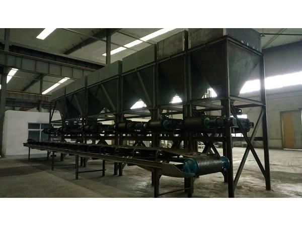 带式定量给料机整条生产线现场安装