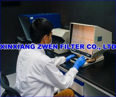 XINXIANG ZWEN FILTER CO.,LTD POROSITY TEST