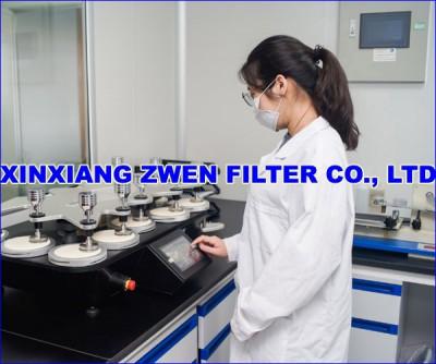 XINXIANG ZWEN FILTER CO.,LTD PERMEABILITY TEST