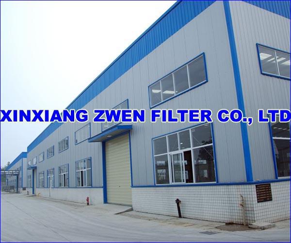 THE SECOND FACTORY OF XINXIANG ZWEN FILTER CO.,LTD