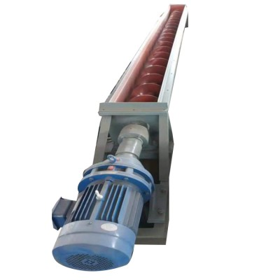 LS219mm管径饲料螺旋输送机