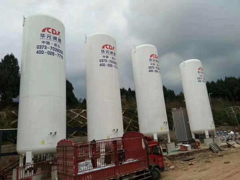 集中供气-4台80m³储罐