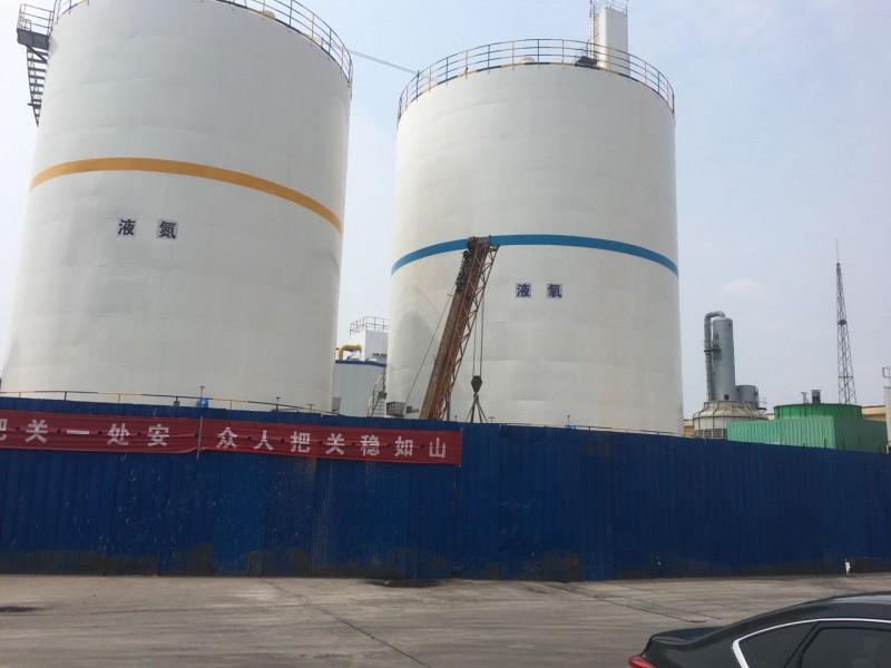 大型低温液体贮槽-1台1000m³液氧  1台1000m³液氮