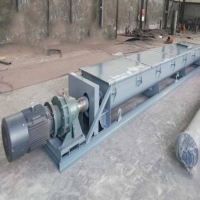 LS315型厨余垃圾不锈钢管式螺旋输送机