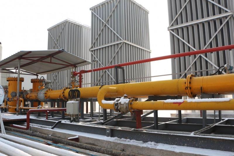 日用20万方LNG站