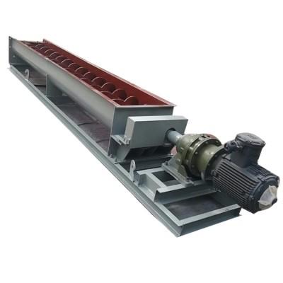 10米石膏粉螺旋提升机