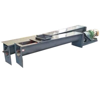 化工用槽式不锈钢绞龙螺旋输送机