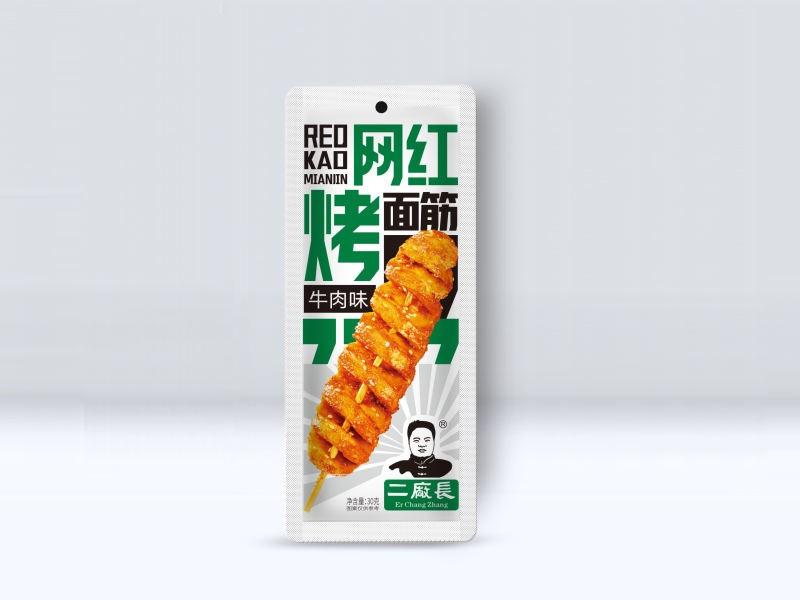 网红烤面筋-牛肉味