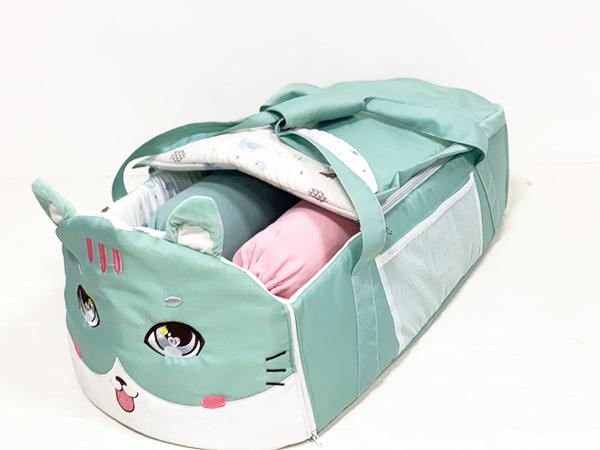 可折叠婴儿床中床