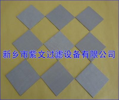 反清洗烧结金属滤板