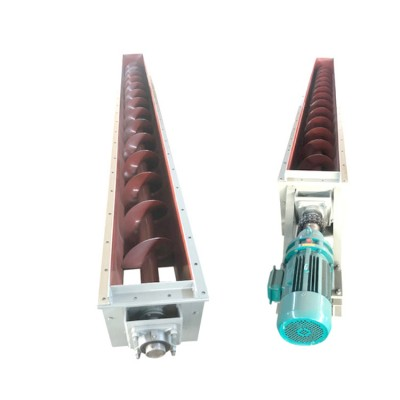 LS325型化肥饲料碳钢螺旋输送机