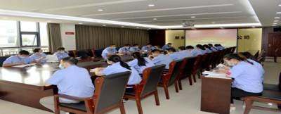 新北仪党委组织开展市级文明单位创建活动