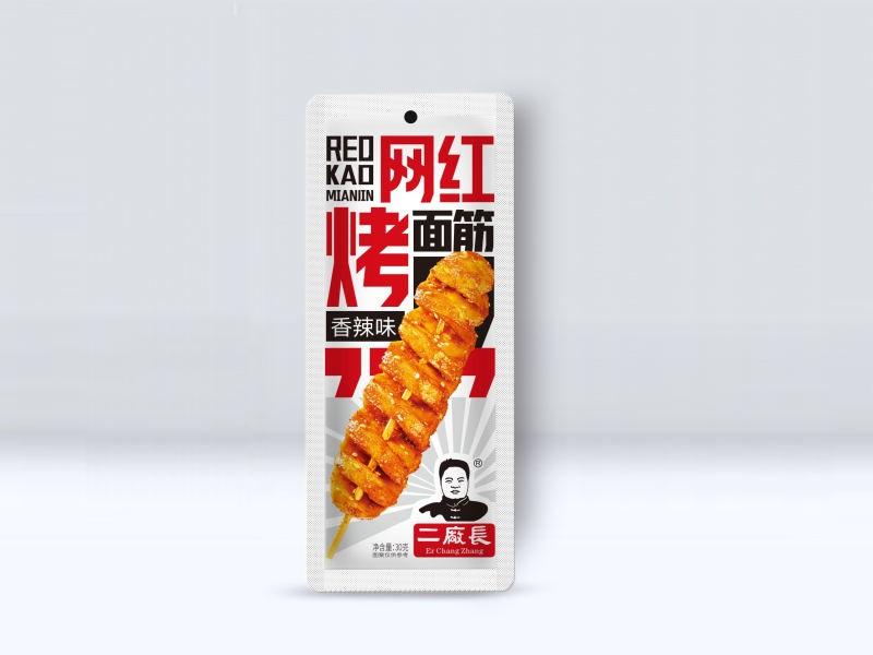 網紅烤面筋-香辣味