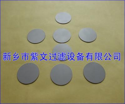 反清洗钛烧结粉末滤片