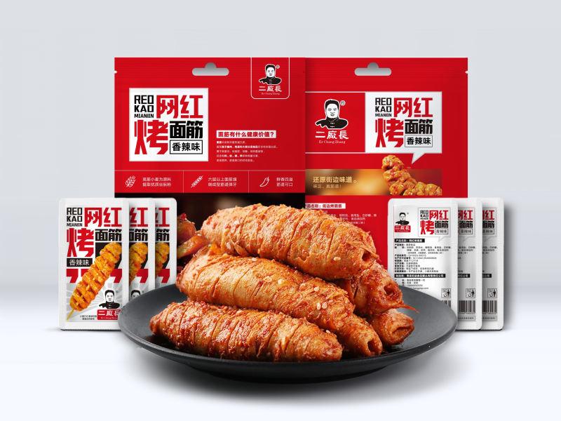 网红烤面筋-香辣味