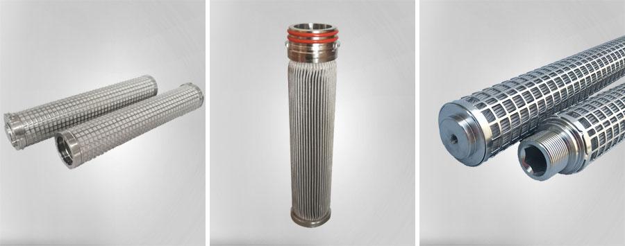 烧结毡聚酯熔体滤芯