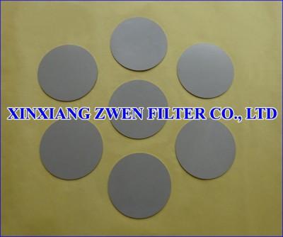 SS Sintered Filter Disc