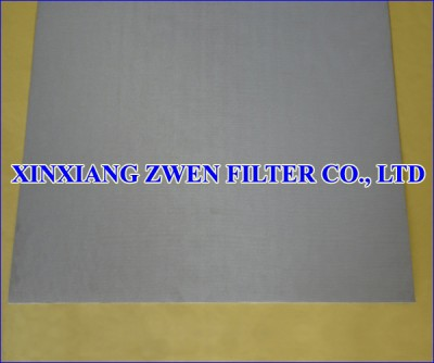 SS Sintered Filter Sheet