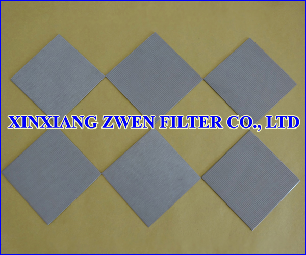 Stainless Steel Sintered Filter Plate