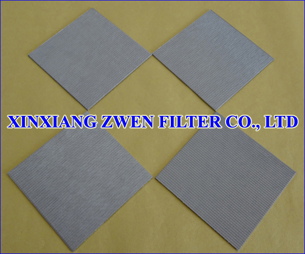 Sintered Wire Cloth Filter Sheet